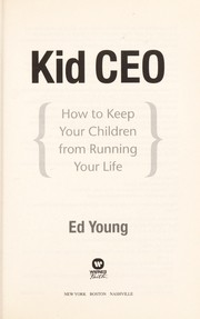 Cover of: Kid CEO | Ed Young