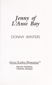 Cover of: Jenny of L'Anse Bay