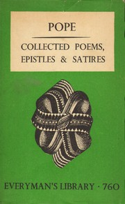 Cover of: The poems, epistles & satires of Alexander Pope