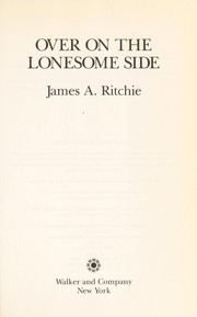 Cover of: Over on the lonesome side