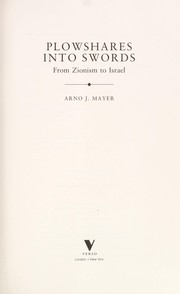 Cover of: Plowshares into swords