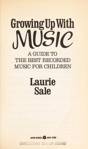 Cover of: Growing up with music