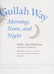 Cover of: Cooking the Gullah way, morning, noon, and night | Sallie Ann Robinson