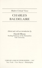 Cover of: Charles Baudelaire | edited and with an introduction by Harold Bloom.