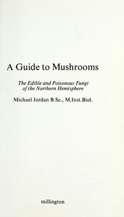 Cover of: A guide to mushrooms