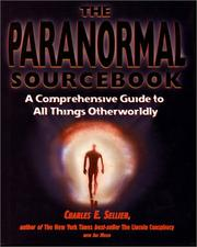 Cover of: The Paranormal Sourcebook (Roxbury Park Books)