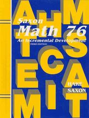 Cover of: Math 76 | Stephen Hake