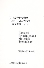 Cover of: Electronic information processing