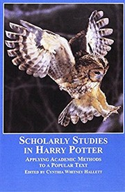 Cover of: Scholarly Studies in Harry Potter