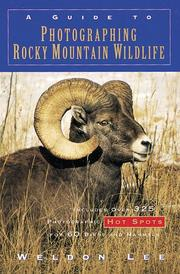 Cover of: A guide to photographing Rocky Mountain wildlife