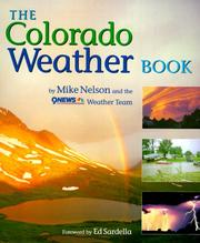 Cover of: The Colorado weather book