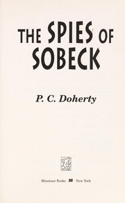 Cover of: The spies of Sobeck