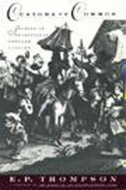 Cover of: Customs in common