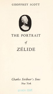 Cover of: The portrait of Zélide
