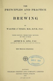 Cover of: The principles and practice of brewing