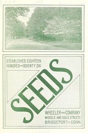 Cover of: Seeds | Wheeler and Company