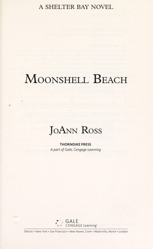 Moonshell Beach : a Shelter Bay novel (edition) | Open Library