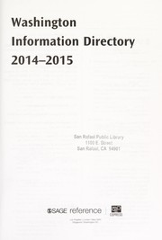 Cover of: Washington Information Directory 2014-2015 | Laura Notten