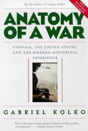 Cover of: Anatomy of a War