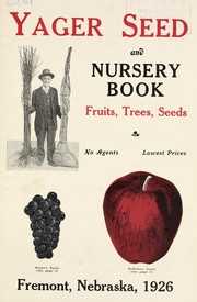 Yager seed and nursery book, fruits, trees, seeds