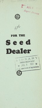 Cover of: For the seed dealer | L.L. Olds Seed Co