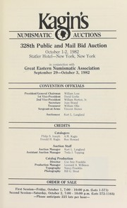 Kagins 328th public and mail bid auction ...