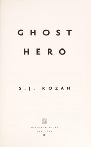 Cover of: Ghost hero