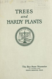 Cover of: Trees and hardy plants [catalog]