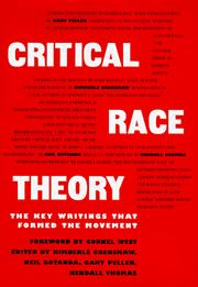 Cover of: Critical Race Theory |