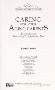 Cover of: Caring for your aging parents