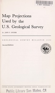 Cover of: Map projections used by the U.S. Geological Survey | John Parr Snyder