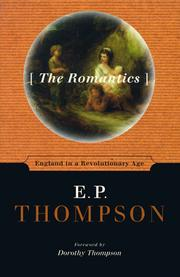 Cover of: The romantics: England in a revolutionary age