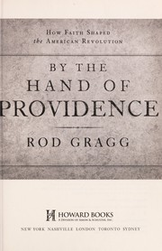 Cover of: By the hand of providence