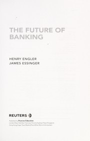 Cover of: The future of banking | Henry Engler