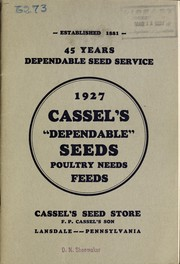 Cassels dependable seeds, poultry needs, feeds