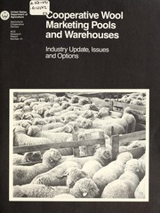 Cover of: Cooperative wool marketing pools and warehouses | Julie A. Hogeland