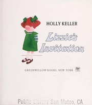 Cover of: Lizzie's invitation
