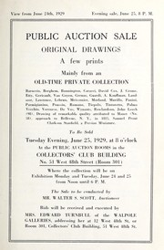 Cover of: Original drawings, a few prints, mainly from an old-time private collection