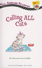 Cover of: Calling all cats