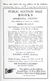 Cover of: Books, sporting prints, first editions of American authors, books on Japan, sale catalogues, arts and literature including a number of the works of Hearn