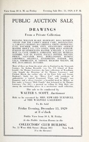 Cover of: Drawings, from a private collection