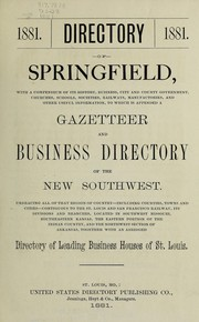 Directory of Springfield