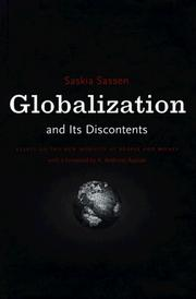 Cover of: Globalization and Its Discontents