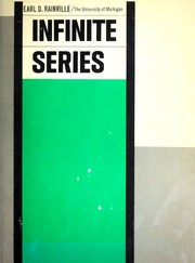 Cover of: Infinite series