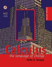 Cover of: Calculus | K. D. Stroyan