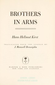 Cover of: Brothers in arms