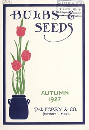 Cover of: Bulbs and seeds | D.M. Ferry & Co