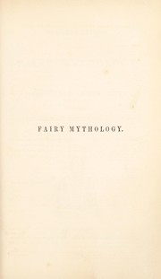 Cover of: Illustrations of the fairy mythology of