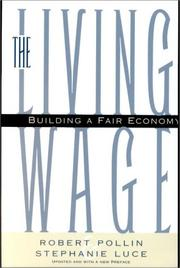 Cover of: The living wage