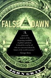 Cover of: False Dawn | John Gray